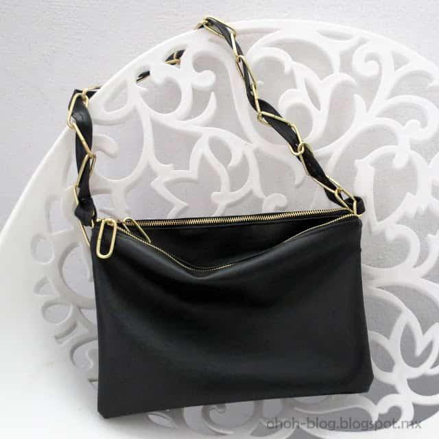 DIY duo zipped bag