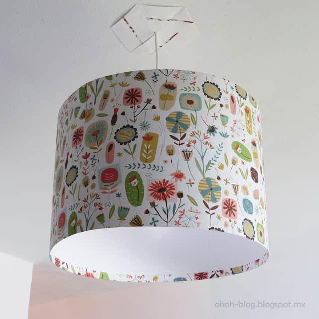 DIY Lampshade / Pantalla