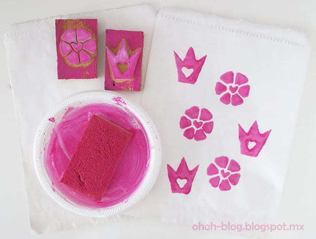 how to make diy stamp