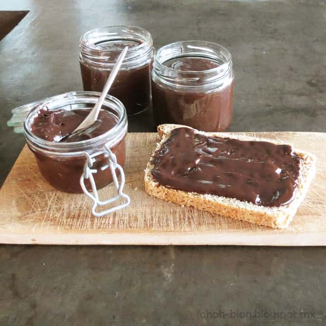 Fanny's homemade nutella recipe