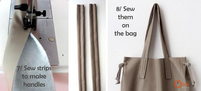sew tote bag handles