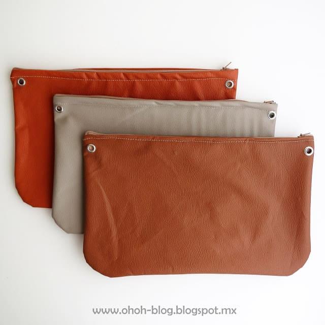 diy leather purse