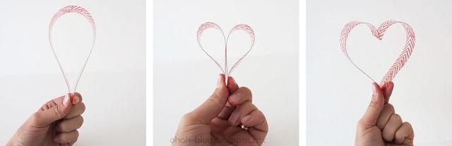 fold heart