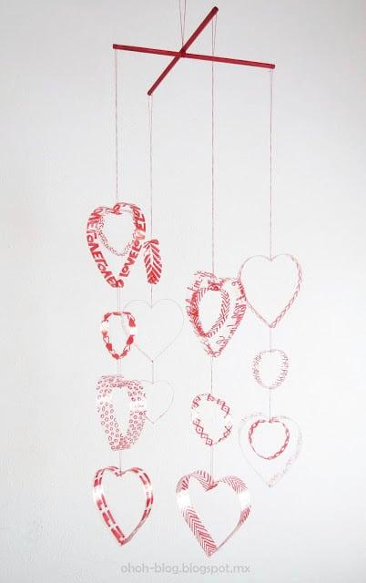 Make hearts mobile