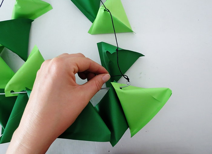 diy paper christmas advent calendar