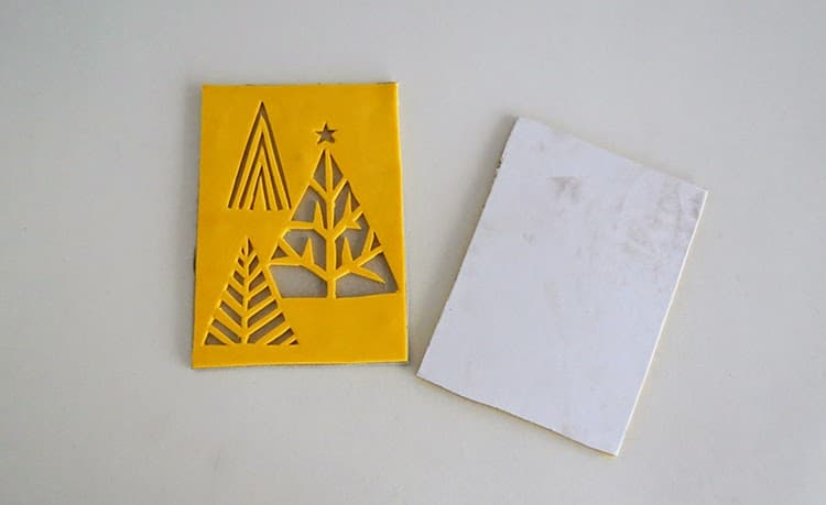 How to make Stamped Christmas greeting Cards