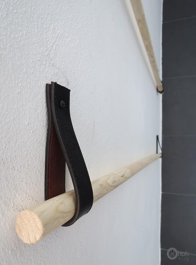 easy to make towel holder