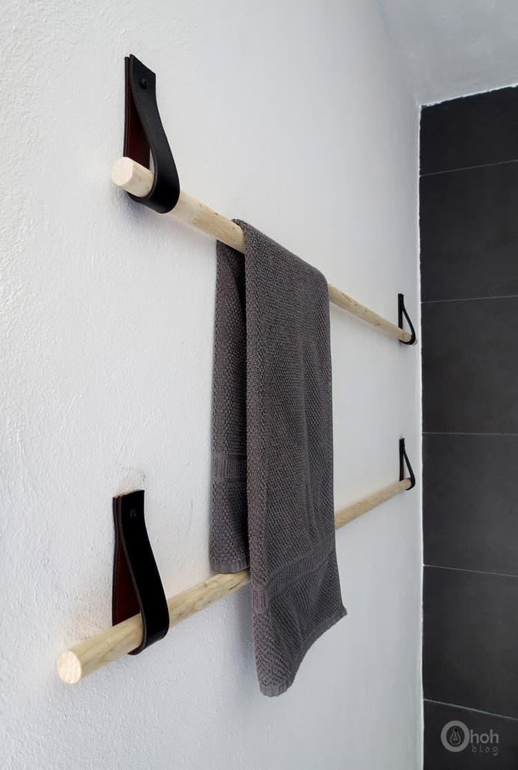 make towel holder in 5 minutes