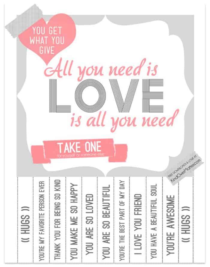 free valentine's card love