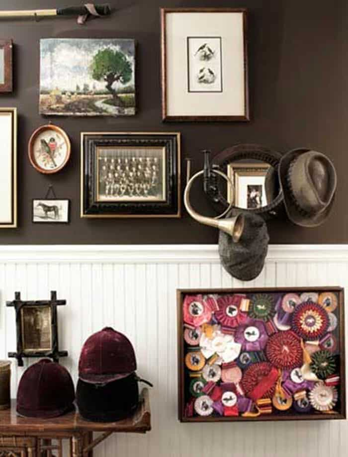 Modern equestrian decor inspiration