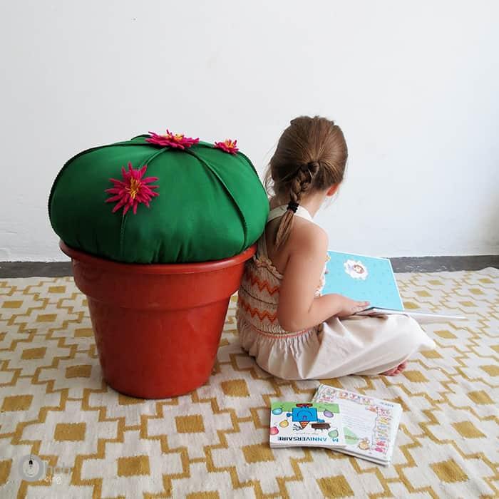 cactus pouf diy