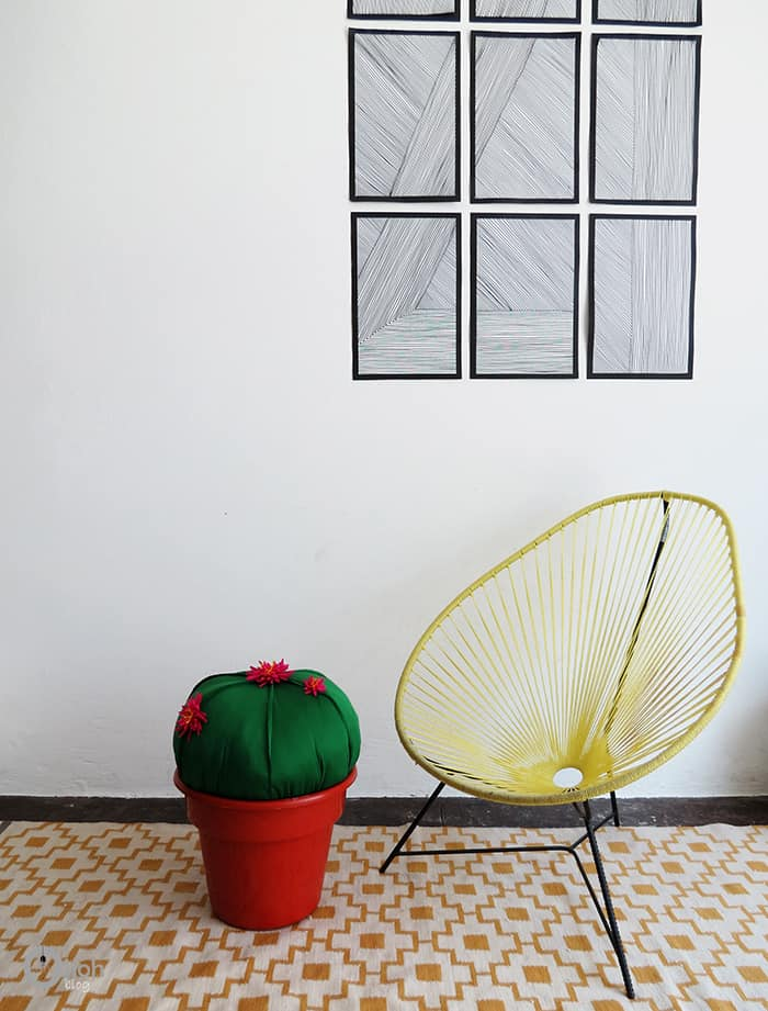 make cactus stool