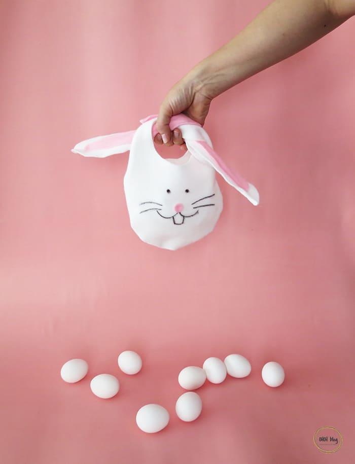 diy no-sew bunny bag