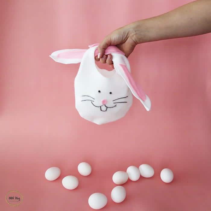 make an easter bunny bag