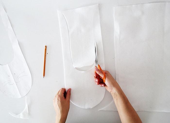 cutting bunny bag