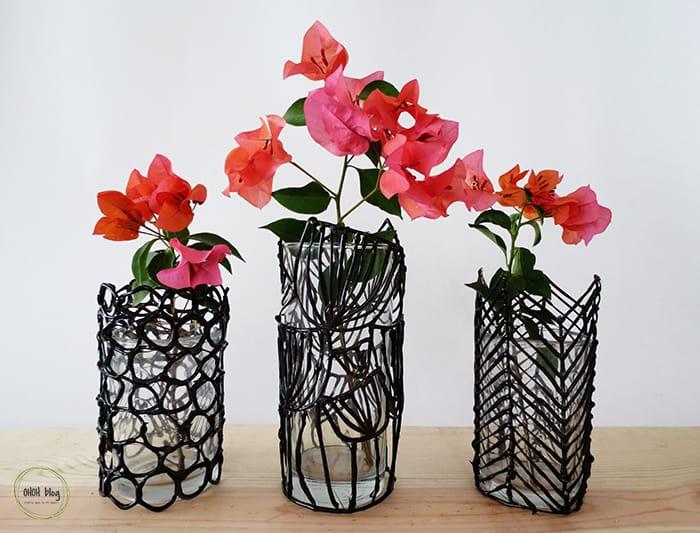 customized glass vase