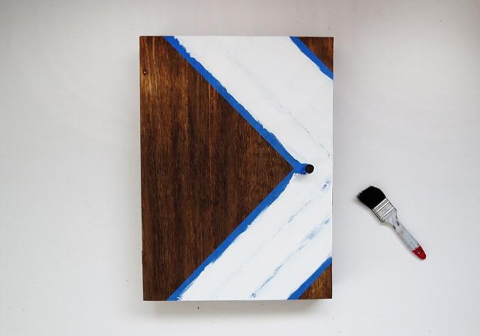 paint key holder box