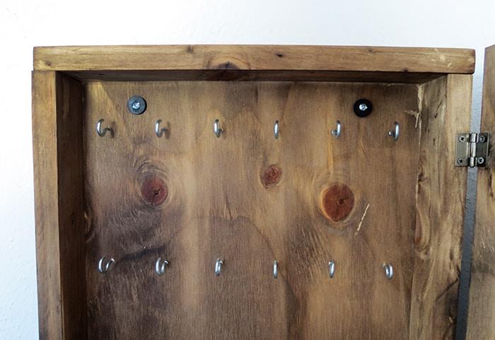 hanging key box