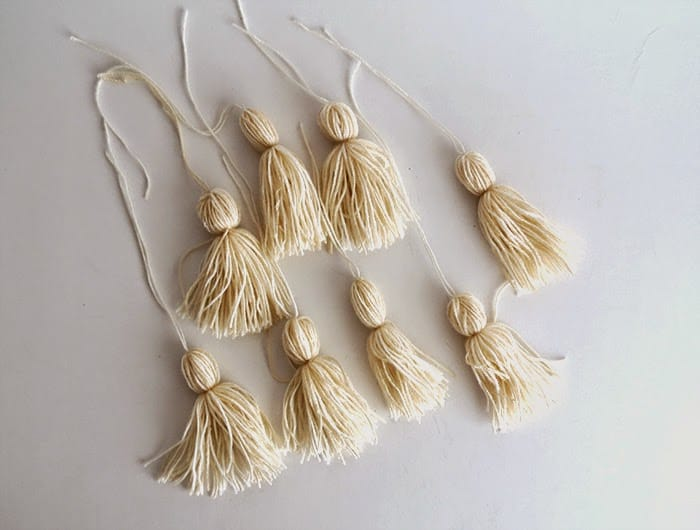 making tassels