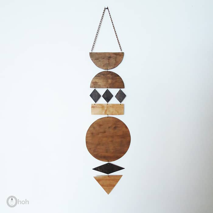 diy wall art jewelry