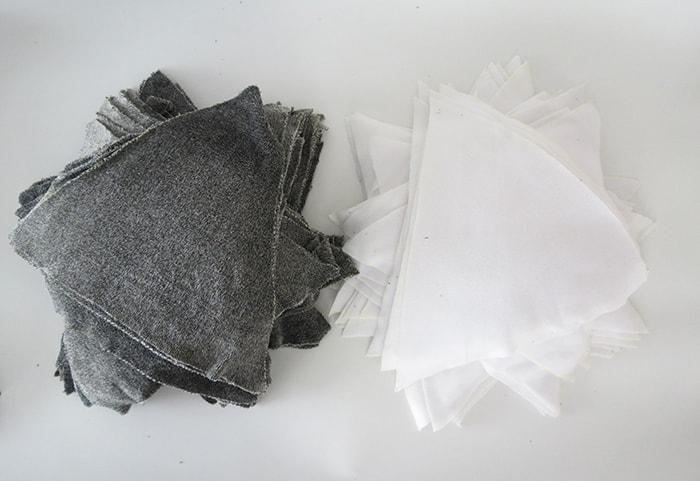 fleece pieces