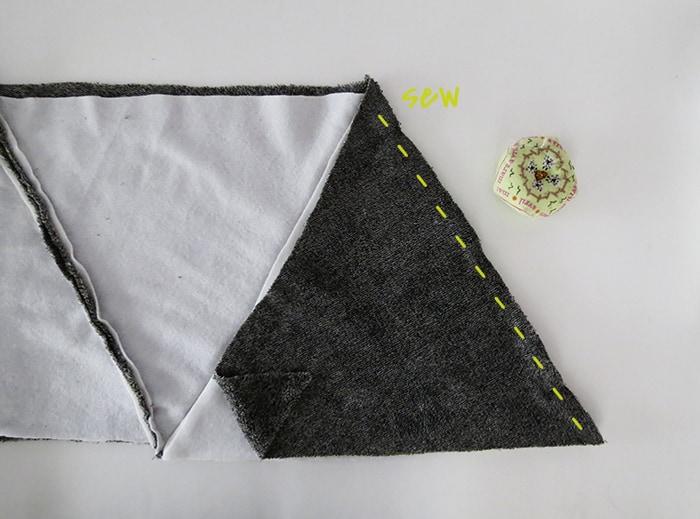 sew blanket