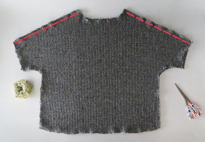 sew the sweater