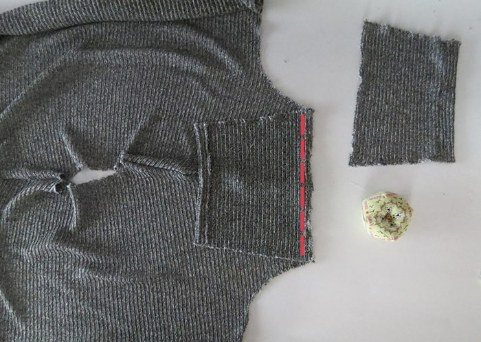 sewing sweater sleeves