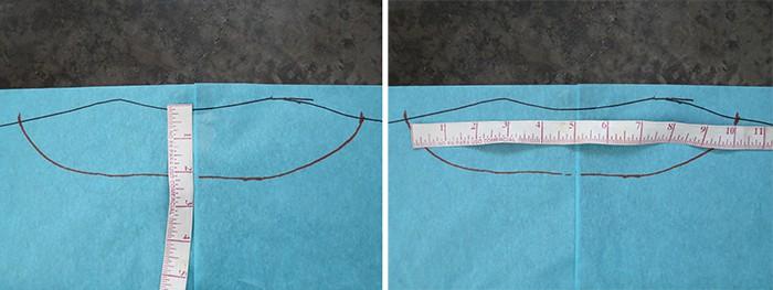 trace neckline sweater pattern
