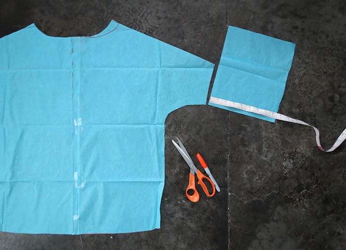 cut sleeve sweater pattern