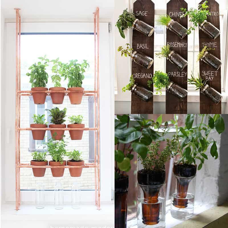the best diy indoor herbs planters