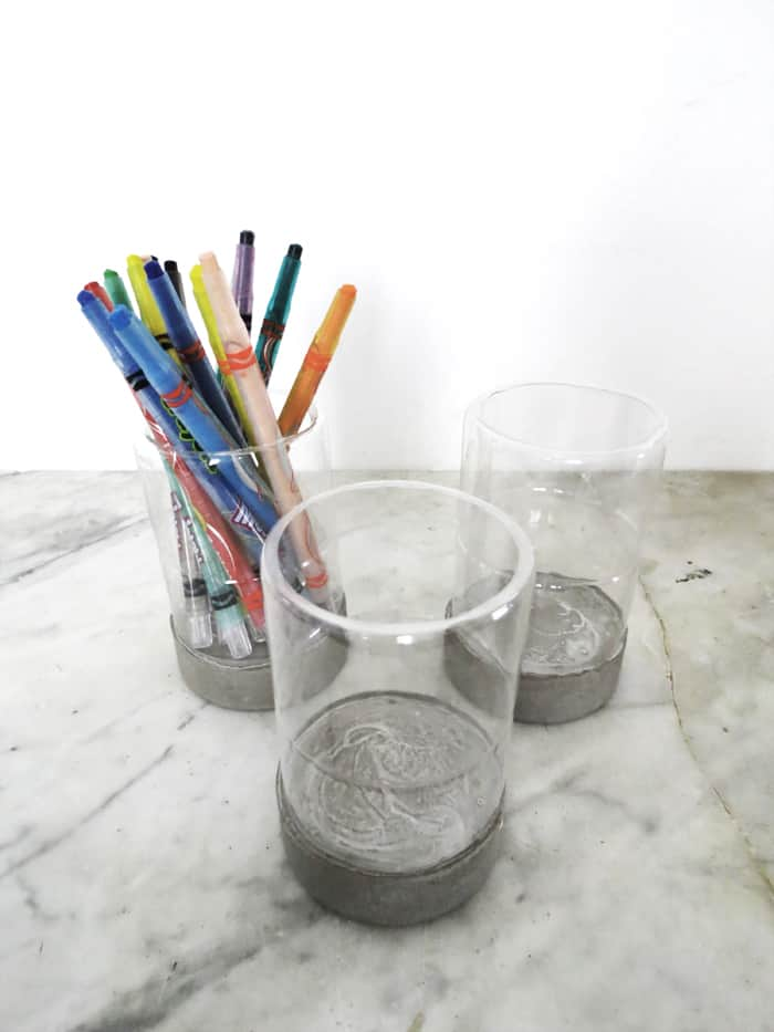 DIY Recycled Pencil Holder