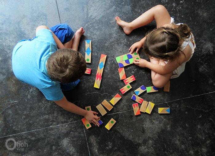 making dominoes