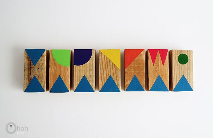 DIY domino game